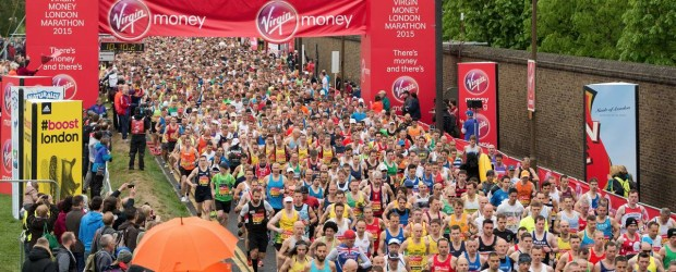 Seb completes the London Marathon for MPT