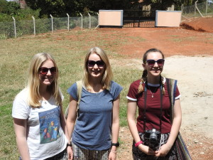 Gap year girls Uganda Feb 2017