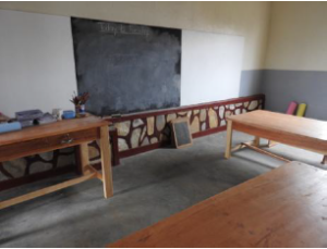 The classroom for the youngest children.
